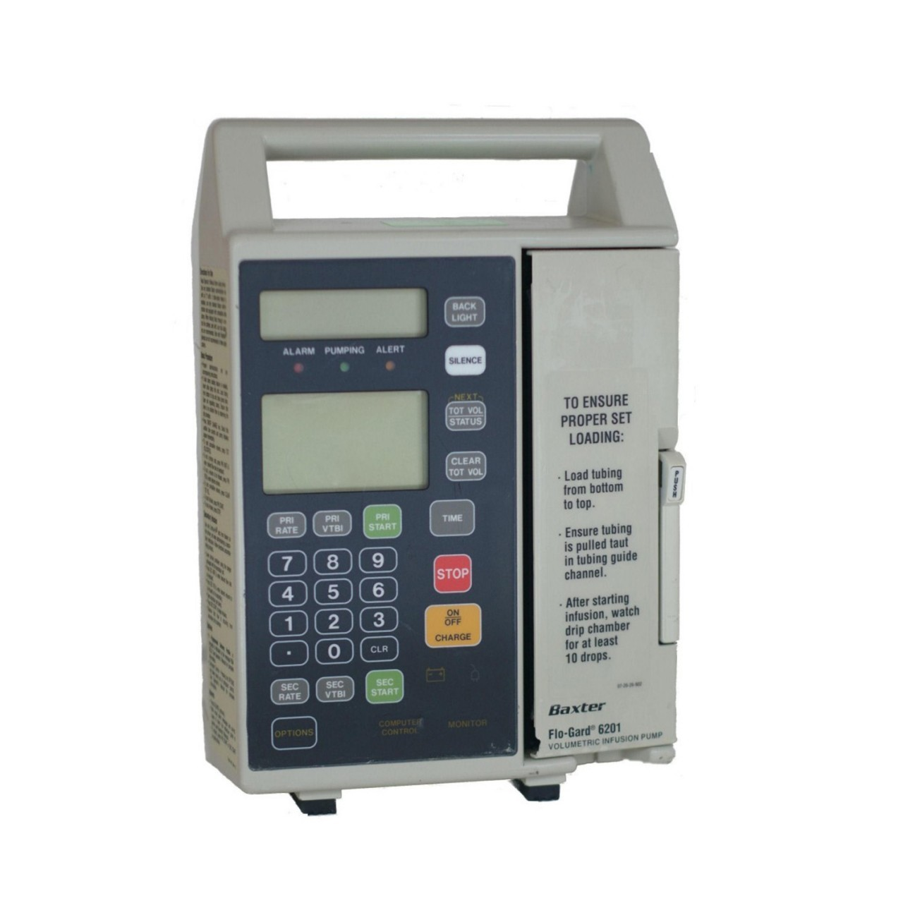 Refurbished Baxter 6201 FloGuard Infusion Pump