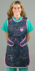 Pulse Medical Stretchy Back Lead Apron