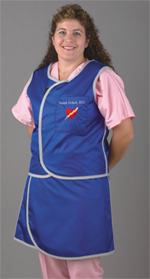 Pulse Medical Two-Piece Lead Apron